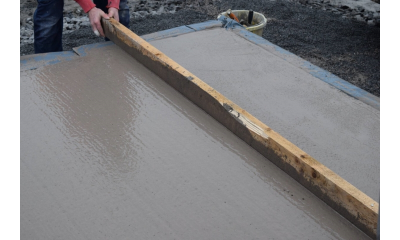 concrete-placed-and-leveled-to-correct-floor-height